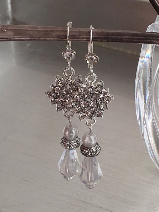 Crystal & Cluster Earrings