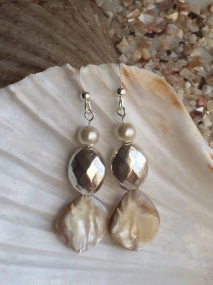 Pearl & Shell Earrings