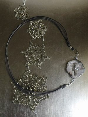 Stardust & Suede Necklace