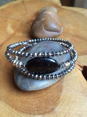 Jasper & Gem Bracelet