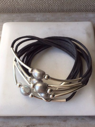 Cool Suede Wrap Bracelet Collection